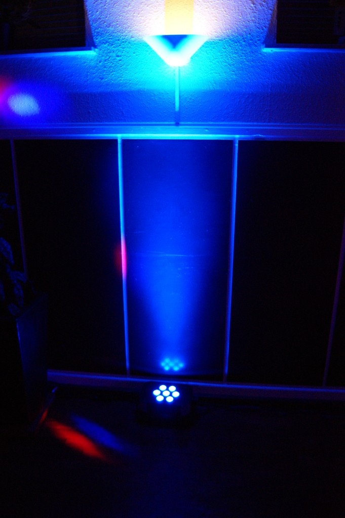LED Flood TRI Panel 7x3W RGB